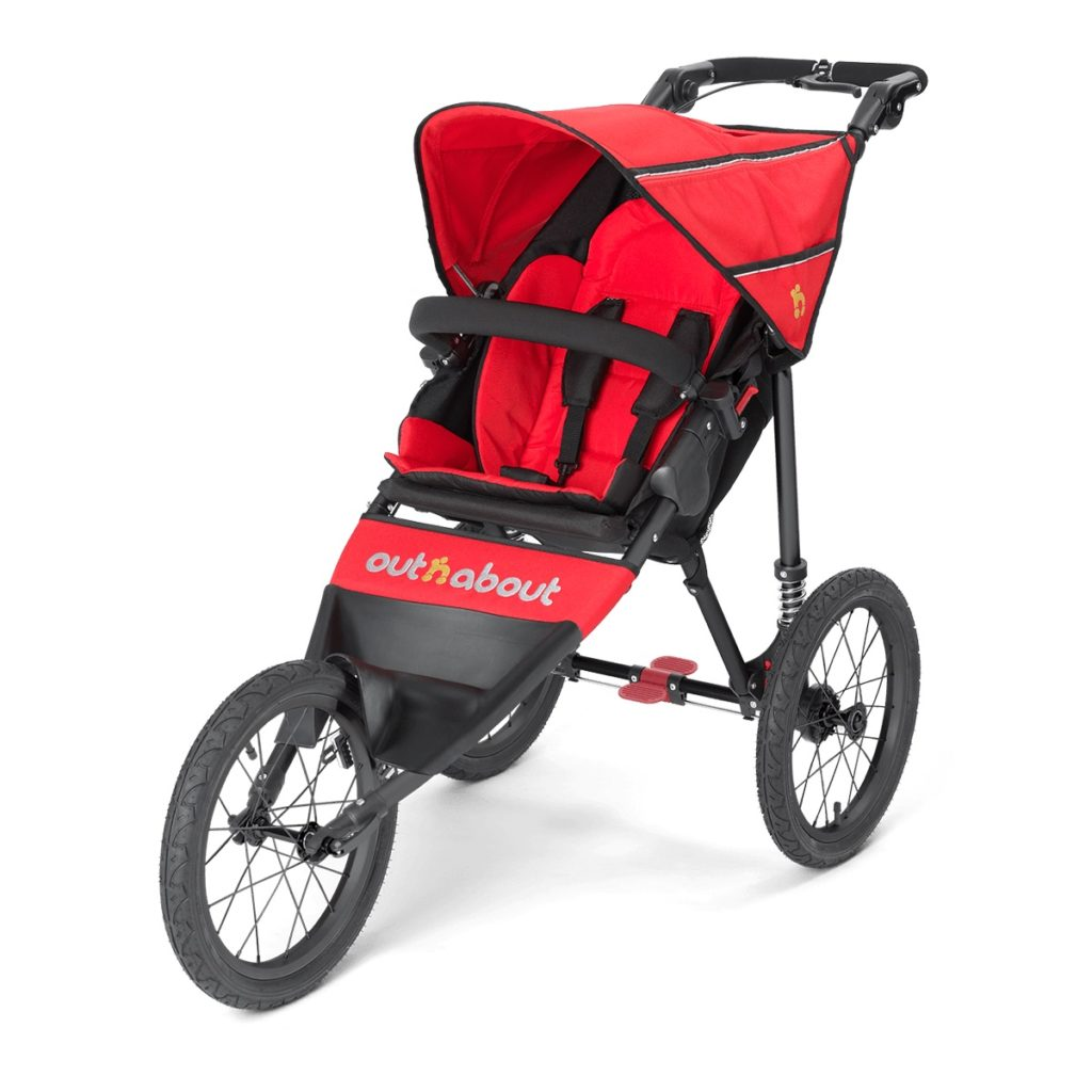 Out n About Nipper Sport - Carnival Red
